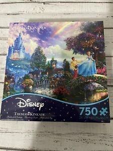 Ceaco Disney Dreams Thomas Kinkade Cinderella 750 Piece Jigsaw Puzzle NEW