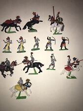 Vintage Britains Toy Knights & Horses 1971 MAKE AN OFFER!!