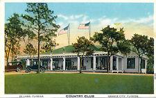 DE LAND, FLORIDA. COUNTRY CLUB. ORANGE CITY, FLORIDA. FL.