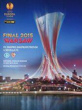 Programm UEFA EL Finale 2015 Dnipro Dnipropetrovsk - Sevilla FC
