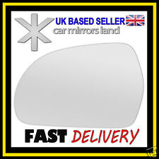 Left Passsenger Wing Car Mirror Glass Replacement CONVEX Skoda Octavia 09-13