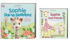 SOPHIE the GIRAFFE Sophie Pop Up Peekaboo & Sophie and Friends touch & feel (bb)
