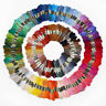 50-100 PCS Cross Stitch Useful Hand Embroidery Thread Floss Sewing Skeins