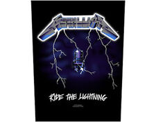 Metallica Ride The Lightning Large Backpatch - New - Licensed Product