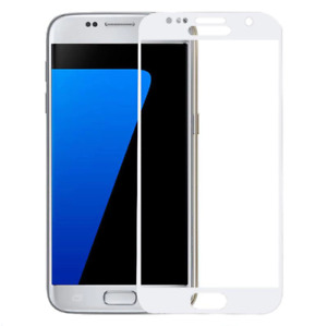 2x Full Covered Tempered Glass Screen Protector Cover For Samsung Galaxy S7 Edge
