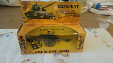Crescent Toys Military Equipment no 1249 Cannon Field Gun with shells Boxed