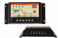 20A Solar Charge Controller 12V/24V PWM Battery Regulator Light&Time Control