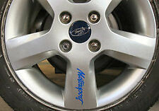 Ford MOTORSPORT wheel rim decals