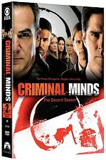 CRIMINAL MINDS SEASON 2 DVD - THE COMPLETE SECOND SEASON [6 DISCS] - NEW