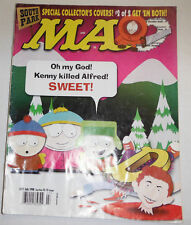Mad Magazine South Park Cover 2 Of 2 July 1998 091814R