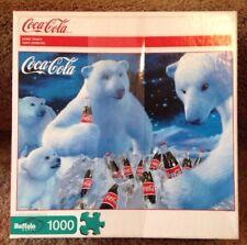 Coca Cola Polar Bears Jigsaw Puzzle 1000 Piece Buffalo Games 2009 Complete