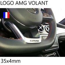 logo AMG volant mercedes benz 35x4mm NEUF livraison gratuite