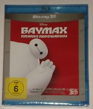 Baymax Riesiges Robowabohu  3D   Blu Ray NEU Disney
