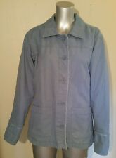 NWOT Women's M Columbia fully lined insulated button down barn coat jacket blue