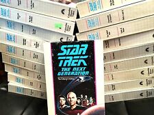Star Trek The Next Generation Collector's Ed. Columbia House Video VHS Lot of 19