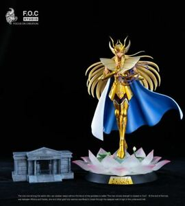 Saint Seiya Les Chevaliers du Zodiaque Vierge Shaka FOC Studio Résine Gold NEUF