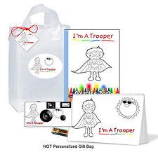 Trooper Gift Bag for boy-Get Well Gift- brave child, superhero-kids/child camera