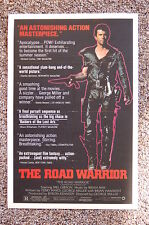The Road Warrior Lobby Card Movie Poster Mad Max Mel Gibson