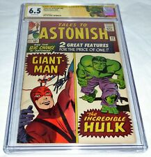 Tales to Astonish #60 CGC SS Signature Autograph STAN LEE Incredible Hulk Wasp