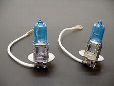 Buick 2x Super White Incandescent Fog Light Bulbs 100W Halogen 12v NOS