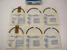 40 Ford 302//5.0 Perfect Circle//MAHLE Cast Piston Rings Set METRIC 1986-95