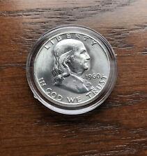 1960-D SILVER FRANKLIN HALF DOLLAR BU GEM CONDITION !!!!