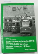 Basler Verkehrs-Betriebe Nr. 45 1945-1982 Jeanmaire neuw.