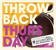 THROW BACK THURSDAY feat. HADDAWAY, SALT 'N' PEPPA, VANILLA ICE, u.a. 3 CD NEU