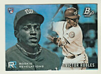 2018 Bowman Platinum ROOKIE REVELATIONS #RR-2 VICTOR ROBLES RC Rookie Nationals