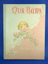 Vintage 1946 Our Baby The First Five Years Book Album Record Priscilla Pointer!