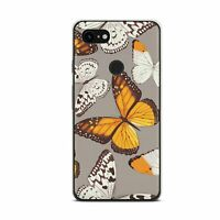 Cute Butterfly Google 4A Pixel 3 XL Silicone Case Nature Google Pixel 4 XL Cover