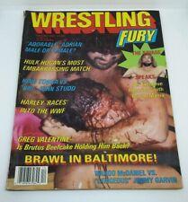 Wrestling Fury Magazine February 1987 Issue 2 Adorable Adrian, Gimmy Garvin