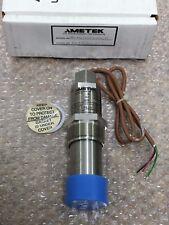 AMETEK 851FG0100NHSCN Pressure Sensor, Transmitter Range 0-100 PSI Switch