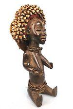 Art Africain Premier Primitif Afrique African - Statue Assise Dan - 45 Cms +++++