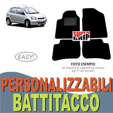 PER TOYOTA YARIS (1) TAPPETINI AUTO SU MISURA IN MOQUETTE CON BATTITACCO | EASY
