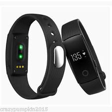 Veryfit ID107 HR Monitor,Heartrate,Sleep Tracker Like Mi Band 2, Fitbit HR-Black