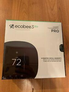 Ecobee3 Lite PRO Smart Wifi Thermostat - Black EB-STATE3LTP-02