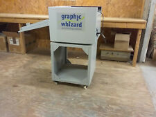 Graphic Whizard PT-330S Semi-Automatic Creaser/Scoring Machine on Cart