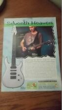 1999 PRINT AD Carvin DC727 DC747 Custom Shop Guitars