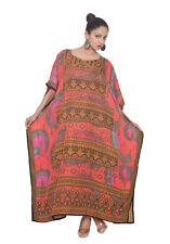 MultiColor Paisley Dress Kaftan Women Size Maxi Cover Plus Womens Long dress