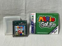 Mario Golf Nintendo Gameboy Color Game Cartridge Manual Authentic & Working