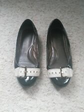 Ted Baker Flat Shoes Black Size 4