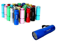1 x Pocket Torch 14 LED Torch & Wrist Strap Stocking Filler Colours May Vary