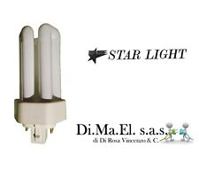 LAMPADA A BASSO CONSUMO STAR LIGHT COMPATTA NEON 13W LUCE 830 GX24q1 4-PIN