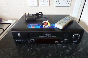 PHILIP VR510 VIDEO RECORDER TURBO TIMER-VHS HQ + USB Video Grabber +Tape to DVD