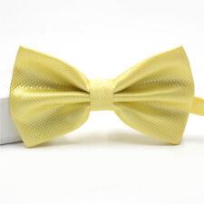2e3bc7b77e100 New Fashion Man Plain Bow Tie Adjustable Fancy Dress Boys Tuxedo Wedding  Dickie