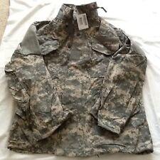 GI M65 Field Jacket ACU Camo Genuine US Military Issue LARGE Regular.