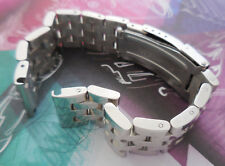 18 mm Solid Parallel 5-row Stainless Steel Links Band Fit Breitling Watch w Tool