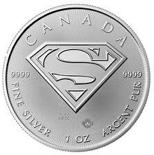 2016 CANADA SUPERMAN 5 DOLLAR 1 OZ  .999 SILVER COIN