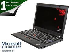 "Lenovo X220 12.5"" Notebooks Intel Core i5 2nd Gen 2520M (2.50 GHz) 320 GB HDD 4"